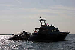 Medemblik, the Netherlands, September 8th 2009. Zeelander brown and Z86 together on the ijselmeer.