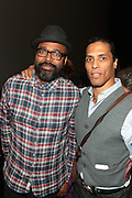 September 20, 2012- New York, New York: (L-R) Director Salim Akil and Actor/Fitness Guru Taimak attends the 2012 Urbanworld Film Festival Opening night premiere screening of  ' Being Mary Jane ' presented by BET Networks held at AMC 34th Street on September 20, 2012 in New York City. The Urbanworld® Film Festival is the largest internationally competitive festival of its kind. The five-day festival includes narrative features, documentaries, and short films, as well as panel discussions, live staged screenplay readings, and the Urbanworld® Digital track focused on digital and social media. (Terrence Jennings)