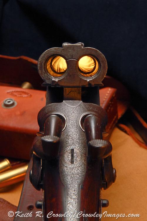 Boss & Co., .410 double barreled rifle built in 1874.