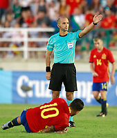 Portuguese referee Luis Godinho during international sub 21 friendly match. September 1,2017.(ALTERPHOTOS/Acero)