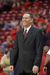 21 November 2009: Redbird assistant coach Rob Judson. The Ospreys of North Florida fall to the Redbirds of Illinois State 71-55 on Doug Collins Court inside Redbird Arena in Normal Illinois.
