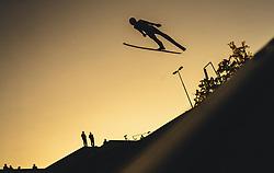 29.09.2018, Energie AG Skisprung Arena, Hinzenbach, AUT, FIS Ski Sprung, Sommer Grand Prix, Hinzenbach, im Bild Mika Schwann (AUT) // Mika Schwann of Austria during FIS Ski Jumping Summer Grand Prix at the Energie AG Skisprung Arena, Hinzenbach, Austria on 2018/09/29. EXPA Pictures © 2018, PhotoCredit: EXPA/ JFK