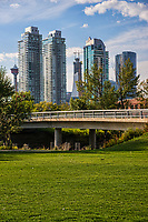 Downtown Calgary from Enmax Park
