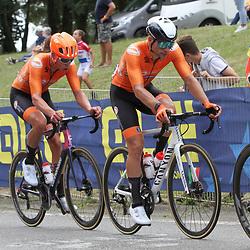 26-08-2020: Wielrennen: EK wielrennen: Plouay<br /> David van der Poel,26-08-2020: Wielrennen: EK wielrennen: Plouay