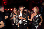 COUNTESS DEBBIE VON BISMARCK; NAOMI CAMPBELL; HEATHER KERZNER, The Summer Party. Hosted by the Serpentine Gallery and CCC Moscow. Serpentine Gallery Pavilion designed by Frank Gehry. Kensington Gdns. London. 9 September 2008.  *** Local Caption *** -DO NOT ARCHIVE-© Copyright Photograph by Dafydd Jones. 248 Clapham Rd. London SW9 0PZ. Tel 0207 820 0771. www.dafjones.com.