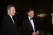 Rory Bremmer and Michael Palin. Conde Nast Traveller Tsunami Appeal dinner. Four Seasons  Hotel. Hamilton Place, London W1. 2 March 2005. ONE TIME USE ONLY - DO NOT ARCHIVE  © Copyright Photograph by Dafydd Jones 66 Stockwell Park Rd. London SW9 0DA Tel 020 7733 0108 www.dafjones.com