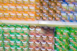 Array of fast food snacks,