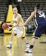 NCAA Women's Basketball - Michigan v Iowa - February 8, 2007