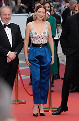 Lea Seydoux attending the Oh Mercy! premiere, during the 72nd Cannes Film Festival. Photo credit should read: Doug Peters/EMPICS