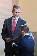 030920 King Felipe VI attends 38th edition of the school contest 'What is a King for you?'