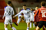 Shrewsbury Town Midfielder Oliver Norburn on the ballduring the EFL Sky Bet League 1 match between Lincoln City and Shrewsbury Town at Sincil Bank, Lincoln, United Kingdom on 15 December 2020.