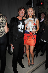 JULIEN MACDONALD and MARIA HATZISTEFANIS at the 2nd Rodial Beautiful Awards in aid of the Hoping Foundation held at The Sanderson Hotel, 50 Berners Street, London on 1st February 2011.