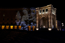 notturne a mano libera passeggiando per Lecce nel periodo natalizio