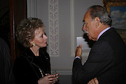 Lily Safra and Barry Munitz 9 President and chief executive officer J. Paul Getty Trust. ) , Celebration honouring the arrival of Deborah Swallow, director, Courtauld Institute of Art. Courtauld Gallery. Somerset House. 9 December 2004. ONE TIME USE ONLY - DO NOT ARCHIVE  © Copyright Photograph by Dafydd Jones 66 Stockwell Park Rd. London SW9 0DA Tel 020 7733 0108 www.dafjones.com