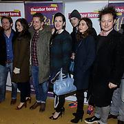 NLD/Amsterdam/20150116 - Premiere 'Ali Baba en de 40 rovers , Elisa Schaap, Alex Klaasen, Tina de Bruin, Kees van Nieuwkerk, Carice van Houten, Rop Verheyen