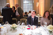 MATTHEW SLOTOVER, Lisson Gallery dinner, Banqueting House. London. 15 October 2013