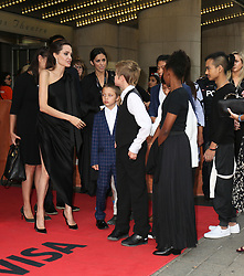 September 12, 2017 - Toronto, Canada - ANGELINA JOLIE WITH HER CHILDREN KNOX, SHILOH, PAX, ZAHARA AND MADDOX - RED CARPET OF THE FILM 'FIRST THEY KILLED MY FATHER' - 42ND TORONTO INTERNATIONAL FILM FESTIVAL 2017 (Credit Image: © Visual via ZUMA Press)