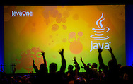 JavaOne 2009, Day 2..Sony Ericsson General Session, Wednesday, June 3, at Moscone Center, San Francisco, California. ...
