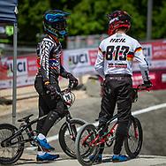 2021 UCI BMXSX World Cup 1&2<br /> Verona (Italy)<br /> Friday Practice<br /> ^me#813 HEIL, Stefan (GER, ME) Nologo, Performance Team Stuttgart, German National Team<br /> ^me#218 GAROYAN, Leo (FRA, ME) Pride, Formula