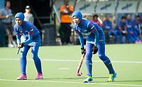 BRUXELLES (Belgium) -  Players  Malaysia   during Hockey World League women (semi final competition)  SPAIN v MALAYSIA .  COPYRIGHT KOEN SUYK