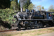 Steam engine on the move