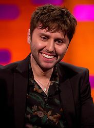 James Buckley during the filming of the Graham Norton Show at the London Studios, to be aired on BBC One on Friday.