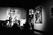 NEW ORLEANS, LA – OCTOBER 28, 2009: Live music is performed at Snug Harbor on Frenchmen Steret.