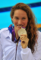 Camille MUFFAT - 200m nage libre - 31.07.2012 - Natation - Jeux Olympiques Londres 2012<br />Photo: Dave Winter / Icon Sport