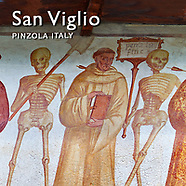 "Pictures of ""Dance of Death"" Murals of San Vigilio Pinzolo - Images Photos"