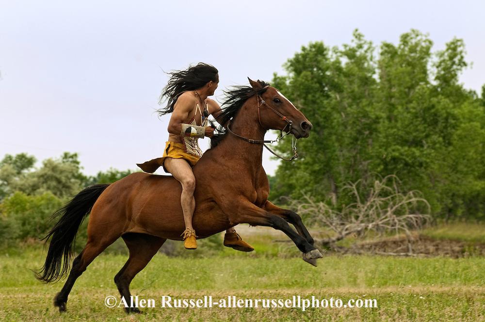 Battle of the Little Bighorn Reenactment, Crow Indian Reservation, Montana