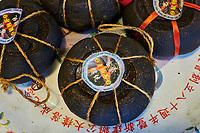 Taïwan, district  de Hsinchu, maison de thé King Tai Tea, thé au pomélo // Taiwan, Hsinchu county, King Tai tea teahouse, Pomelo tea