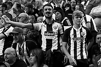 West Bromwich Albion fans argue as a decision goes against them<br /> <br /> Photographer David Shipman/CameraSport<br /> <br /> The EFL Sky Bet Championship - West Bromwich Albion v Stoke City - Saturday September 1st 2018 - The Hawthorns - West Bromwich<br /> <br /> World Copyright © 2018 CameraSport. All rights reserved. 43 Linden Ave. Countesthorpe. Leicester. England. LE8 5PG - Tel: +44 (0) 116 277 4147 - admin@camerasport.com - www.camerasport.com