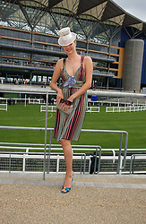 JODIE KIDD at the first day of the Royal Ascot racing festival 2006 at Ascot Racecourse, Berkshire on 20th June 2006.<br />