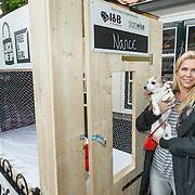 NLD/Blaricum/20150602 - Start Lock me Up - Free a Girl 2015 actie, Nance Coolen met hond Sneaker