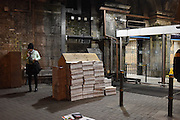 Evening Standard, London Bridge station, London, 12 January 2016