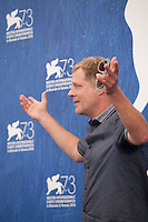 Andreas Lust at the Die Einsiedler (The Eremites) film photocall at the 73rd Venice Film Festival, Sala Grande on Friday September 2nd 2016, Venice Lido, Italy.