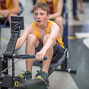 Simon Wagstaff MALE HEAVYWEIGHT U15 1K Race #11  11:45am <br /> <br /> <br /> www.rowingcelebration.com Competing on Concept 2 ergometers at the 2018 NZ Indoor Rowing Championships. Avanti Drome, Cambridge,  Saturday 24 November 2018 © Copyright photo Steve McArthur / @RowingCelebration