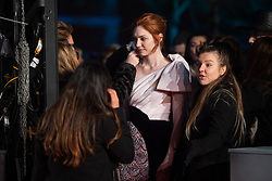 Eleanor Tomlinson attending the 72nd British Academy Film Awards, Arrivals, Royal Albert Hall, London. Picture date: Sunday February 10th, 2019. Photo credit should read: Matt Crossick/ EMPICS Entertainment.