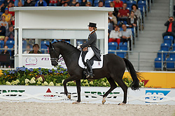 Barbancon Mestre Morgan, (ESP), Painted Black<br /> Grand Prix Special<br /> European Championships - Aachen 2015<br /> © Hippo Foto - Dirk Caremans<br /> 15/08/15