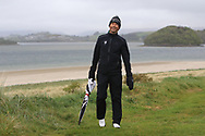 Niall Manchip (National Coach) on the 6th tee during Round 3 of the Ulster Boys Championship at Donegal Golf Club, Murvagh, Donegal, Co Donegal on Friday 26th April 2019.<br /> Picture:  Thos Caffrey / www.golffile.ie