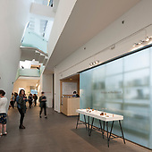Glazed Partition Installation - Glasgow College of Art
