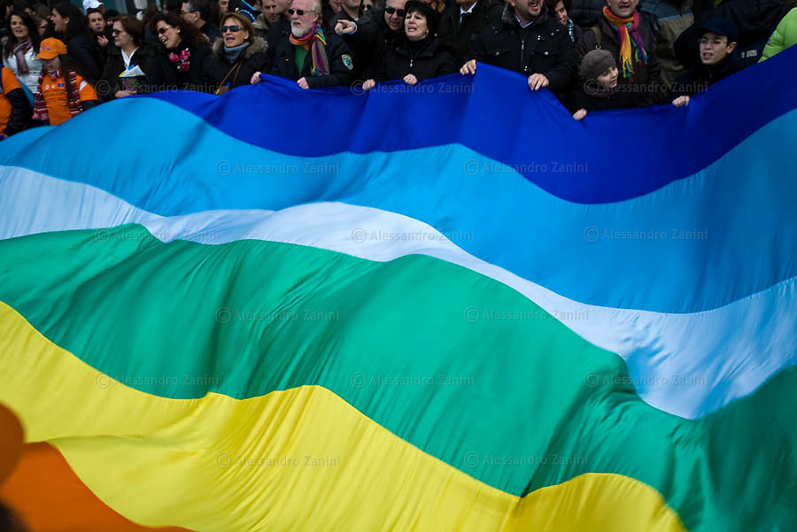 National Demonstration against Mafia in Neaples, 21/03/2009