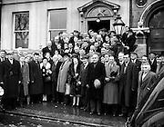Fine Gael Ard Fheis at Engineers Hall .04/02/1958.