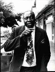 1968 - Amin Uganda; Idi Amin, President of Uganda. His full titles are: Al-Hajji Field Marshal Dr. Idi Amin Dada, VC, DSO, MC, DBE Life President of the Republic of Uganda. Photo shows in Uganda recently. Credits: Camerapix (Credit Image: © Keystone Pictures USA/ZUMAPRESS.com)