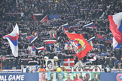 November 27, 2018 - Decines Charpieu - Parc Ol, France - Supporters  (Credit Image: © Panoramic via ZUMA Press)