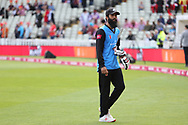 Worcestershire Rapids Moeen Ali warms up during the Vitality T20 Finals Day semi final 2018 match between Worcestershire Rapids and Lancashire Lightning at Edgbaston, Birmingham, United Kingdom on 15 September 2018.