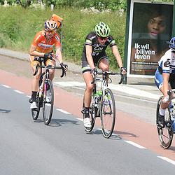 27-05-2016: Wielrennen: Boels Rental Classic: Valkenburg  <br />VALKENBURG (NED) wielrennen<br />Lotta Lepisto, Kyara Stijns, Romy Kasper, Thalita de Jong