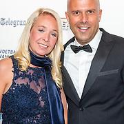 NLD/Hilversum/20190902 - Voetballer van het jaar gala 2019, Arne Slot en partner