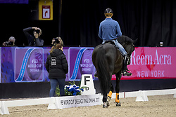 Gal Edward, NED, Glock's Voice<br /> Training session<br /> Longines FEI World Cup Jumping Final, Omaha 2017 <br /> © Hippo Foto - Jon Stroud<br /> 29/03/2017