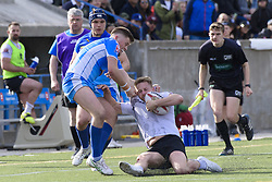 May 20, 2017 - Toronto, Ontario, Canada - GARY WHEELER (14) in action during the Rugby League game between  game between Toronto Wolfpack and Barrow Raiders (Credit Image: © Angel Marchini via ZUMA Wire)